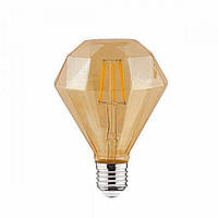 LED лампа Едісона декоративна [ DIAMOND G-95 ] (4w), фото 1