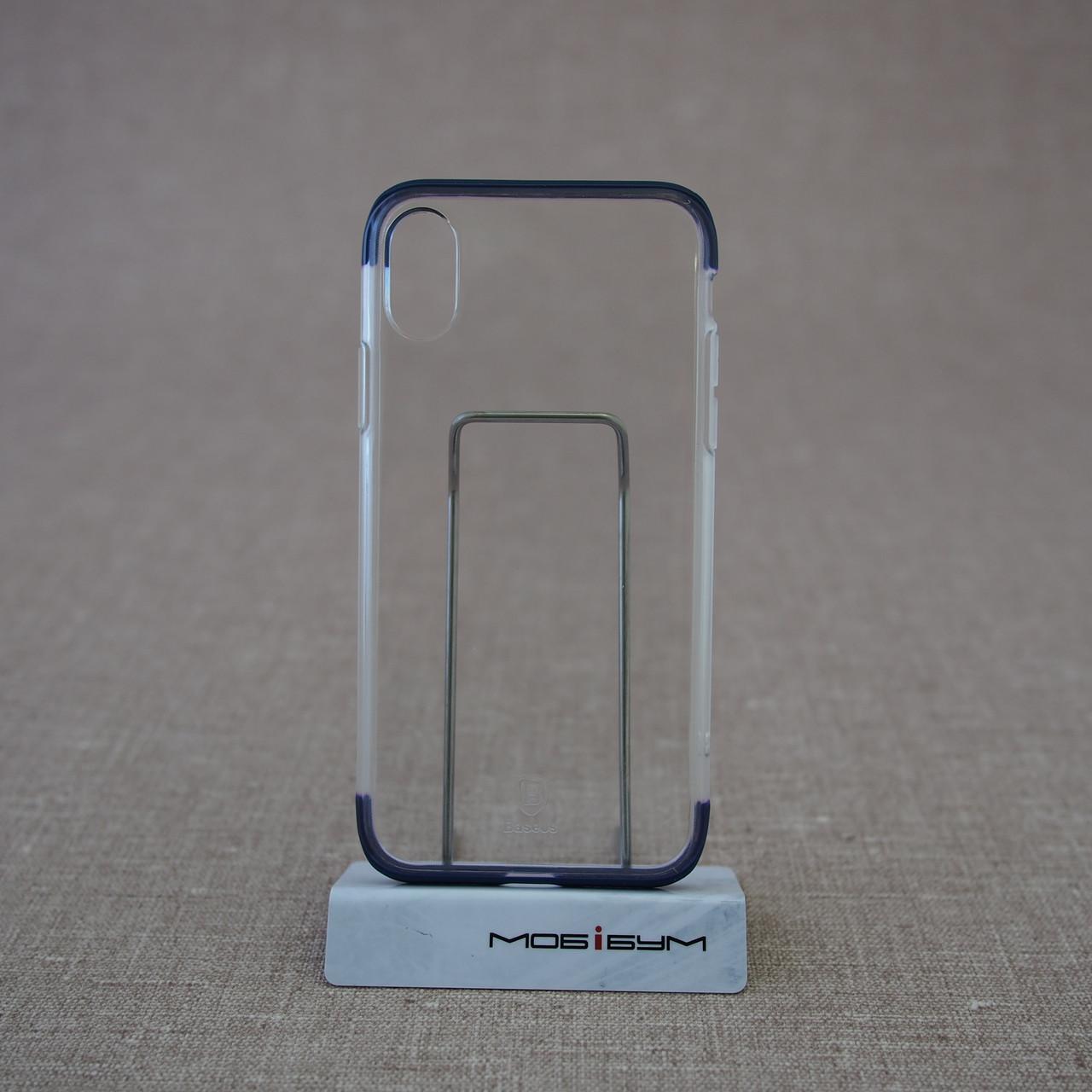 "Чохол Baseus Armor iPhone Xs / X {5.8 ""} blue (WIAPIPHX-YJ03) EAN / UPC: 6953156264403"
