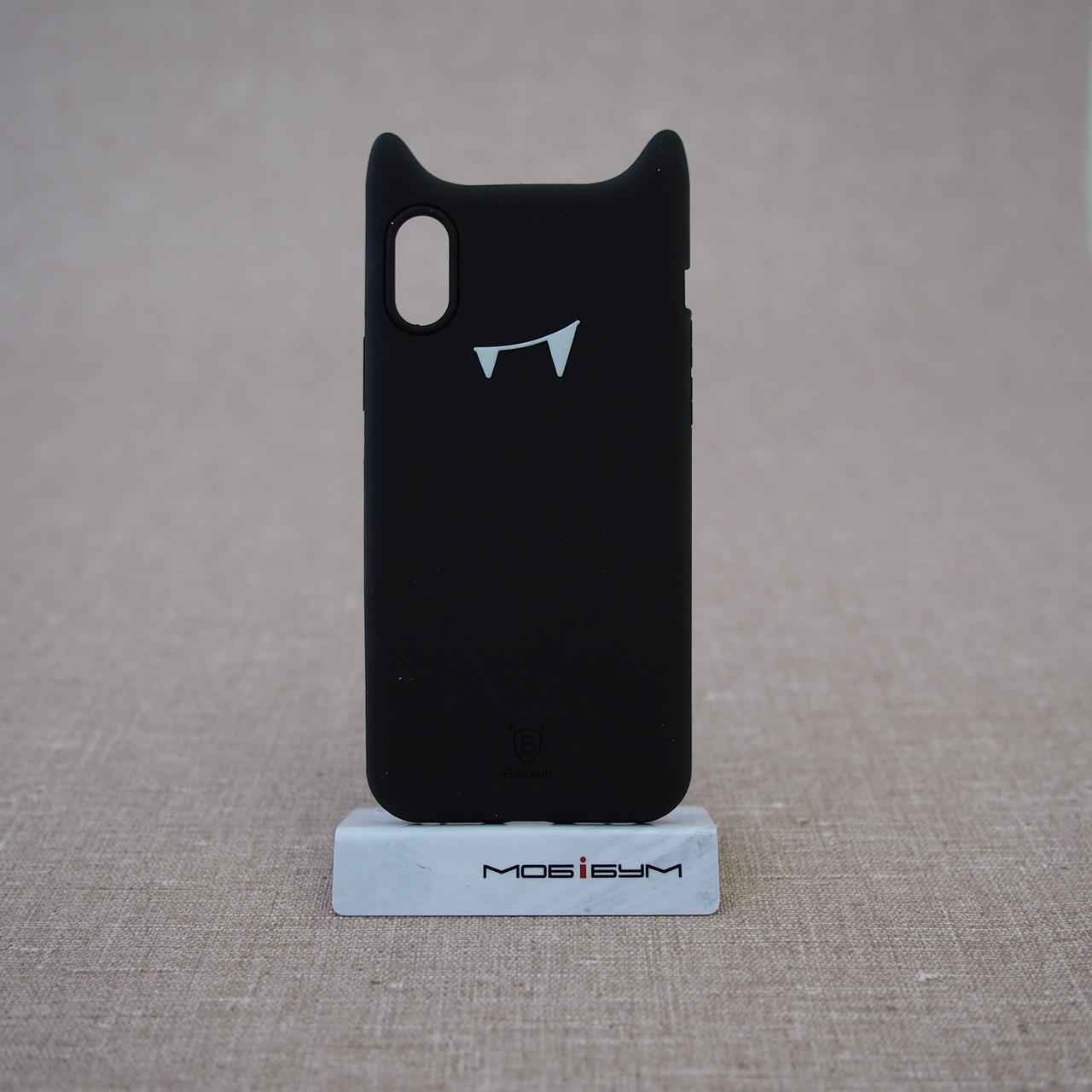 "Чохол Baseus Devil iPhone Xs / X {5.8 ""} black (ARAPIPHX-XM01) EAN / UPC: 6953156264427"