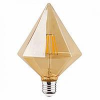 LED лампа Эдисона декоративная [ PYRAMID  G-125 ]  (6w)