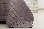 Покрывало Стиль, Шоколад/белый (140/210 см), фото 2