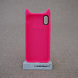 "Чохол Baseus Devil iPhone Xs / X {5.8 ""} rose (ARAPIPHX-XM0R) EAN / UPC: 6953156264441, фото 2"