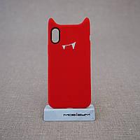 """Чехол Baseus Devil iPhone Xs/X {5.8""""} red (ARAPIPHX-XM09) EAN/UPC: 6953156264434"""
