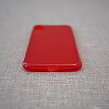 "Чохол Baseus Simple iPhone Xs / X {5.8 ""} transparent red (ARAPIPHX-C09) EAN / UPC: 6953156264212, фото 3"