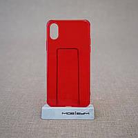 "Чехол Baseus Simple iPhone Xs/X {5.8""} transparent red (ARAPIPHX-C09) EAN/UPC: 6953156264212"