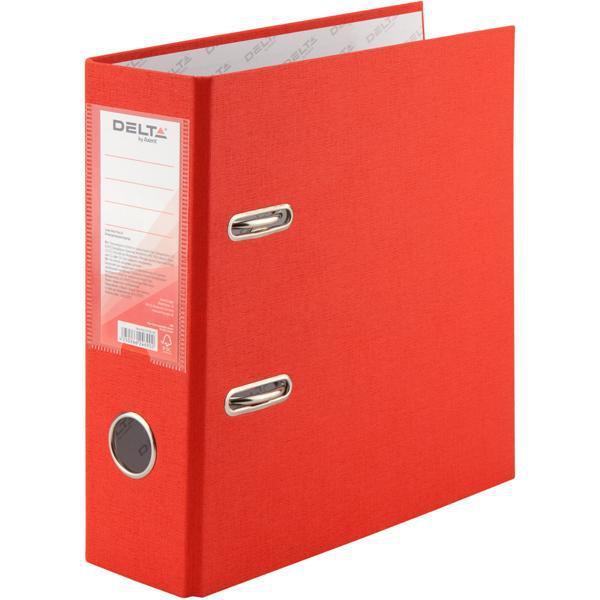 Сегрегатор А5 75 Delta красный 1718  Папка регистратор накопитель