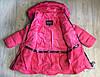Зимнее пальто для девочки SPEED.A Польша 98,104,110,116,122,128,134, фото 2