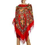 Шерстяной платок женский Венский вальс, фото 3
