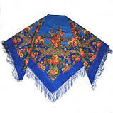 Шерстяной платок с бахромой женский Изысканный, фото 2