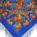 Шерстяной платок с бахромой женский Изысканный, фото 3
