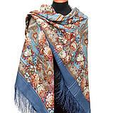 Шерстяной платок с шелковой бахромой Именинница, фото 2