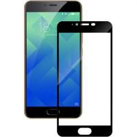 Защитное закаленное стекло GLASS 2.5D  для Meizu M5 черное