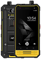 "Nomu T18 yellow IP68 3/32 Gb, 4.7"", MT6737T, 3G, 4G, РАЦИЯ, фото 1"