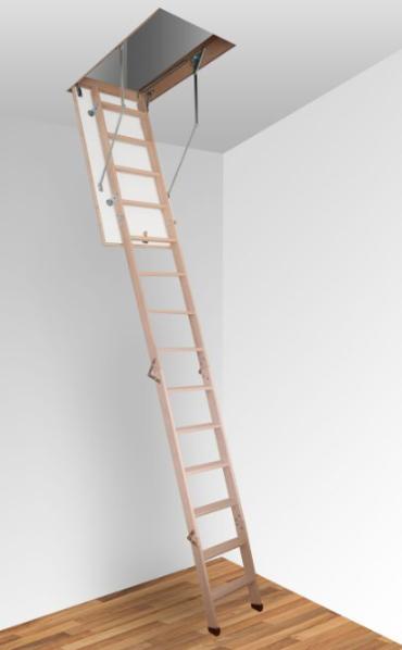 Чердачная лестница Д (деревянная)