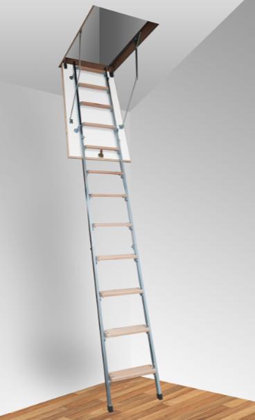 Чердачная лестница М (металлическая)