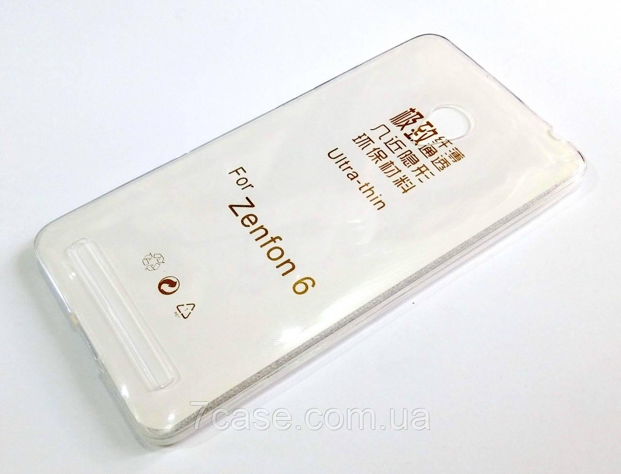 Чохол силіконовий ультратонкий для Asus Zenfone 6 a600cg / a601cg