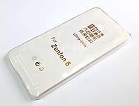 Чехол силиконовый ультратонкий для Asus Zenfone 6 a600cg / a601cg, фото 1