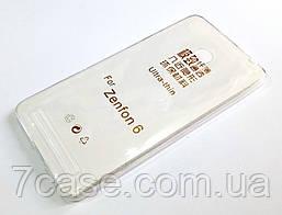 Чехол силиконовый ультратонкий для Asus Zenfone 6 a600cg / a601cg