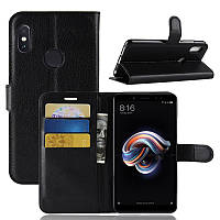 Чехол IETP для Xiaomi Redmi Note 5 / Note 5 Pro Global книжка кожа PU черный