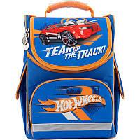 Рюкзак школьный каркасный Kite Hot Wheels 501 HW-2