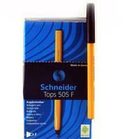 Ручка шариковая TOPS 505F черная 50шт Schneider