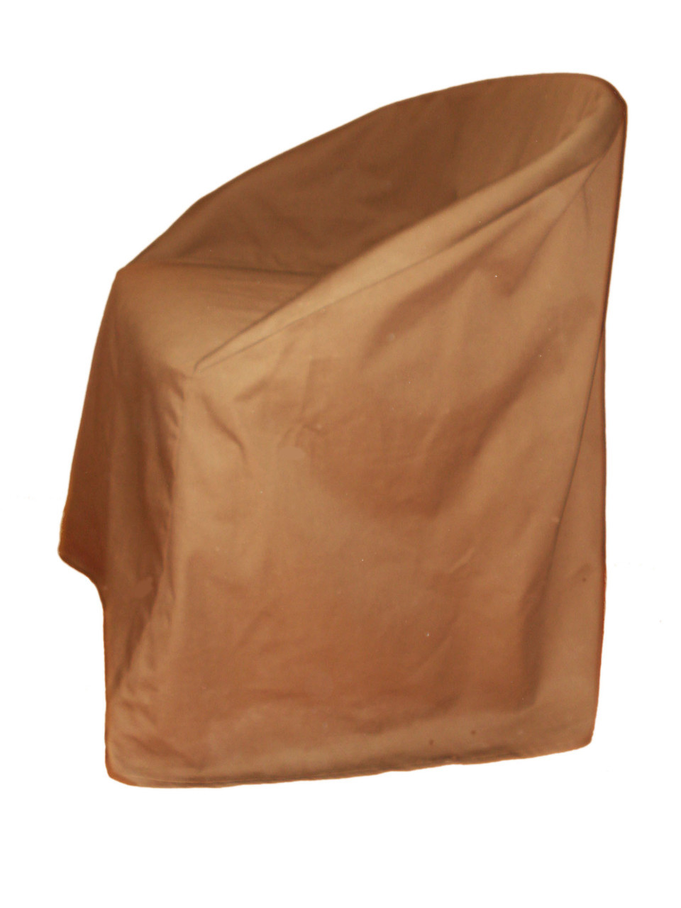 Чехол накидка на стул кресло коричневый Atteks - 1354