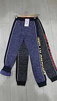 Спортивные брюки с начесом для мальчиков подростковые GRACE