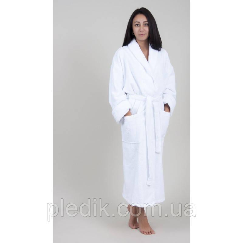 Халат махровий білий Lotus Готель 380 пл. р. XL