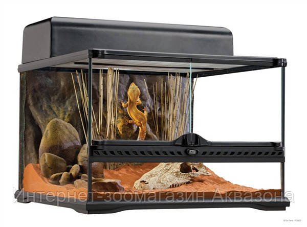 Стеклянный террариум Exo Terra Glas terrarium, 45х45х30 см