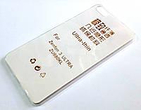 Чехол для Asus Zenfone 3 Ultra ZU680KL силиконовый ультратонкий прозрачный
