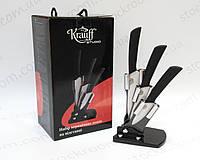 Набор керамических ножей Krauff 29-166-006 на подставке, фото 1