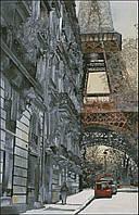 """Схема для вышивания """"В переулках Парижа"""""""