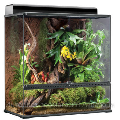 Стеклянный террариум Exo Terra Glas terrarium, 90х45х90 см