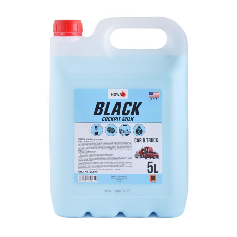 "Полироль  молочко для пластика ""Nowax Black Cockpit Milk"" 5л"