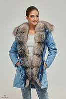 Женская зимняя парка с мехом: будь этой зимой просто неотразимой!