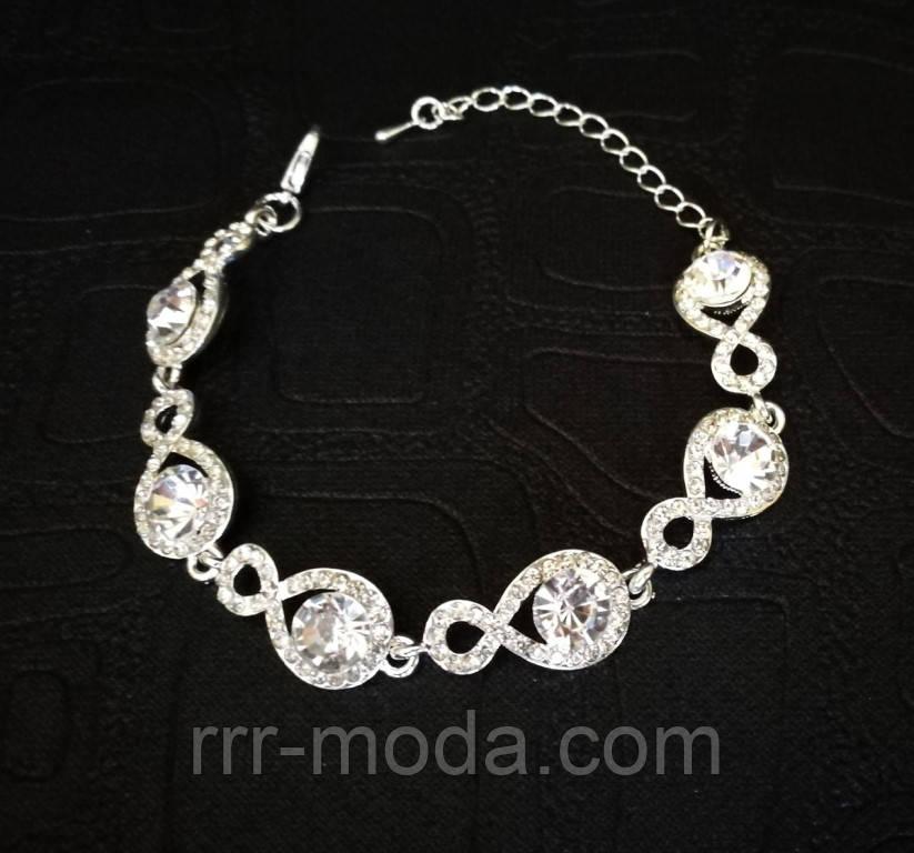 Нарядные свадебные браслеты оптом. 1029