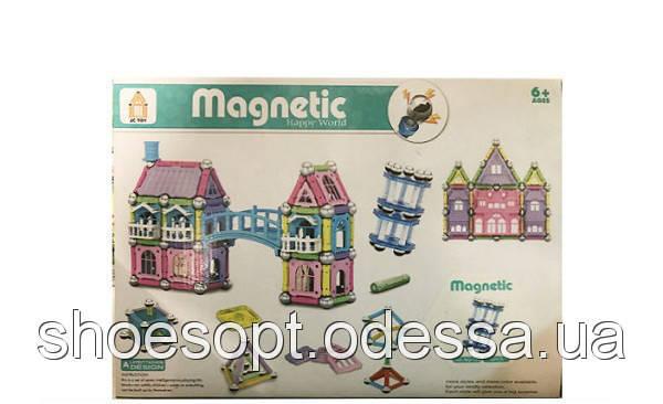 Магнитный конструктор Magnetic world Волшебный замок 72 детали