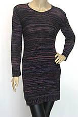 Жіноче трикотажне вязане плаття туніка, фото 3