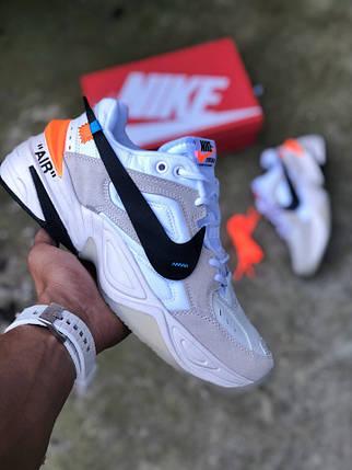 331726ae Мужские кроссовки OFF-WHITE x Nike M2K Tekno (Топ реплика ААА+) ...