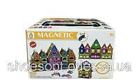 Магнитный конструктор в боксе Magnetic world Волшебный замок 138 деталей
