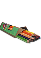 """Цветные карандаши Grip-rite 12 цветов №9400-12CB """"MARCO"""" """"JUMBO""""+точилка (уп12\72)"""