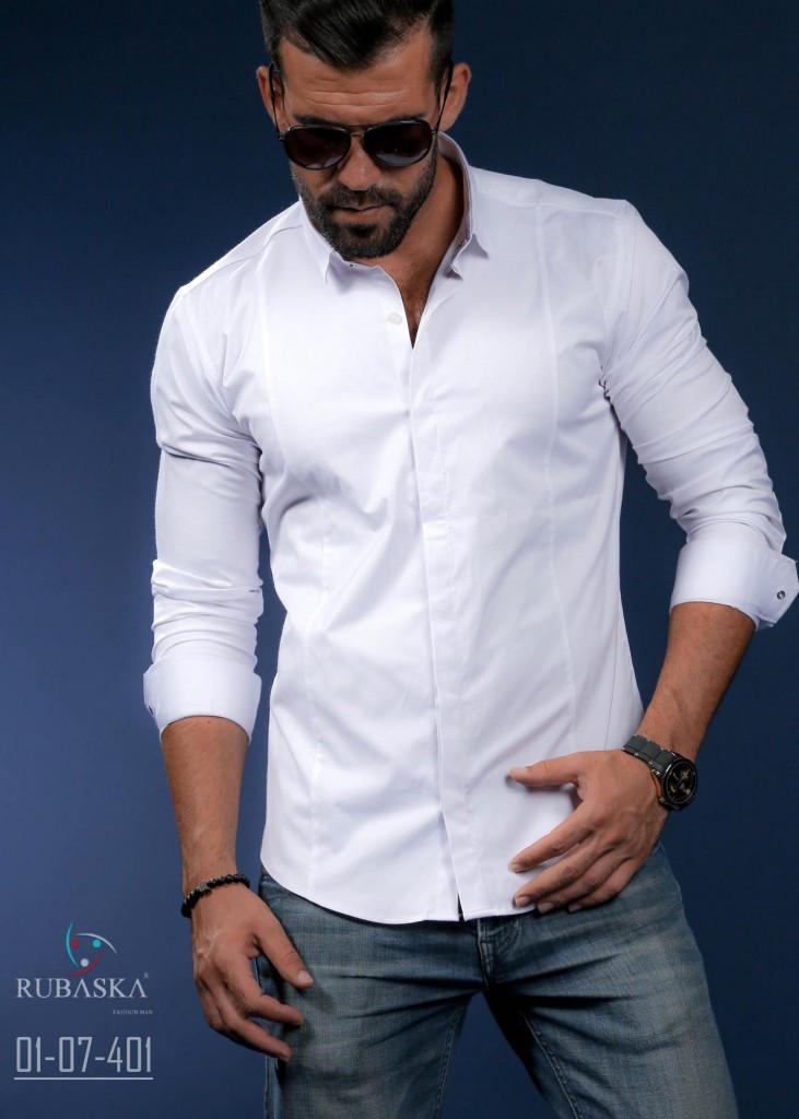 954dc5bbc46 Стильная белая рубашка с длинным рукавом (Турция)