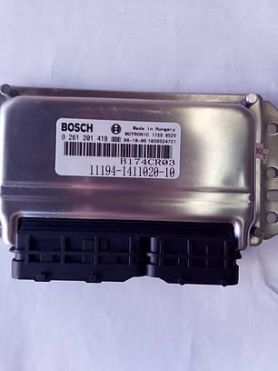 Контроллер системы управления двигателем Bosch 11194-1411020-10, фото 2