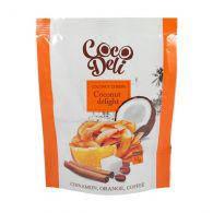 Чипсы кокосовые со вкусом апельсина, корицы и кофе 30g