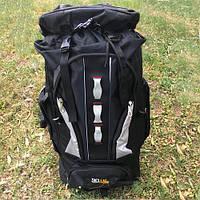 Рюкзак туристический 100 л черный, фото 1