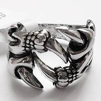 """Кольцо """"Когти дракона"""". Размеры 18, 19, 20. Байкерские украшения, бижутерия., фото 1"""