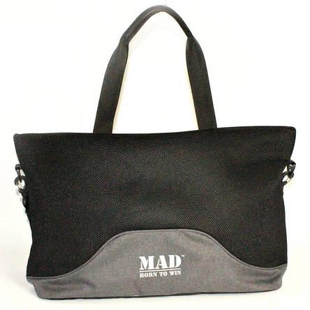 Женская спортивная сумка LATTICE (Серая), фото 2