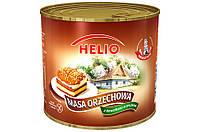 Масса Ореховая с кусочками арахиса без глютена  Orzechowa Helio Польша 560г