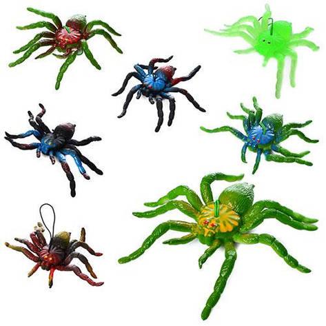 Насекомое 1102-6  паук, 8-12см, 3вида, 10шт в связке, фото 2
