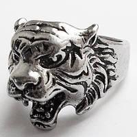 """Кольцо """"Голова тигра"""". Размер 19, 20, 21. Неформальные украшения, бижутерия., фото 1"""